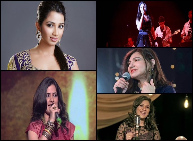 Top 5 Married Female Bollywood Singers